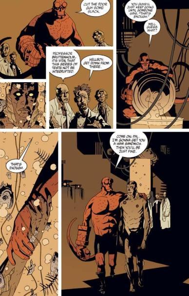 Hellboy meets Abe